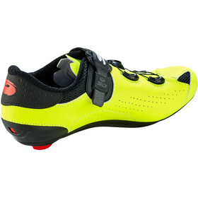 Sidi Genius 10 Schoenen Heren, black/yellow fluo